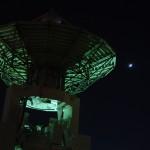 月-金星-木星-電波望遠鏡(2008/12/02)