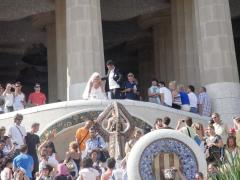 Wedding at Park Guell
