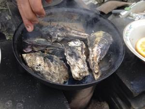 ノブヒェンで牡蠣