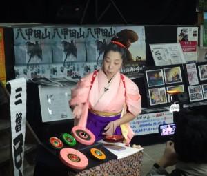三増巳也イン旭館で曲独楽